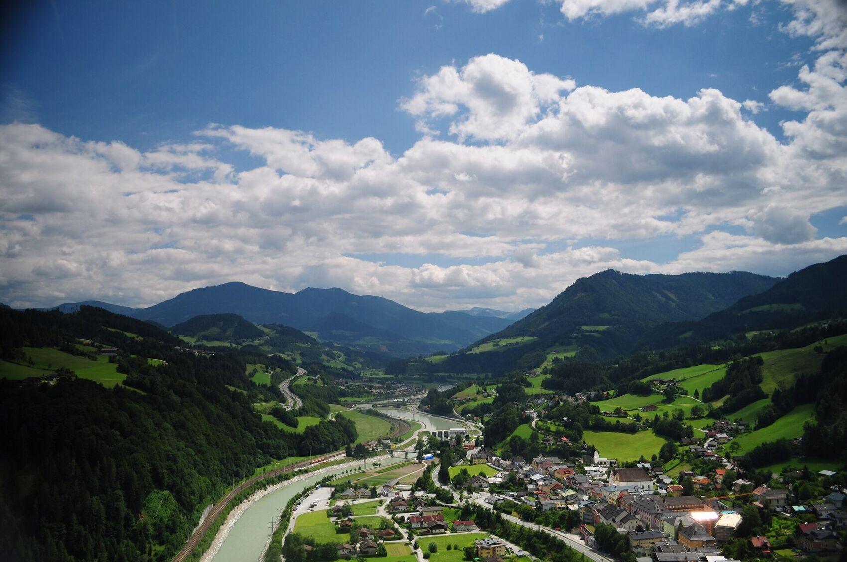 Werfen from Hohenwerfen Castle (06).jpg